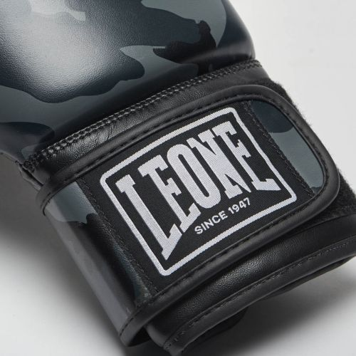 Leone Gray Camouflage Boxing Gloves