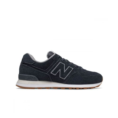 New Balance 574 Suede Lifestyle Navy for Men