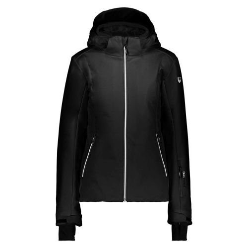 Campagnolo Softshell for Woman With Detachable Hood in Black