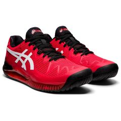Asics Gel Resolution 8 Electric Red-White