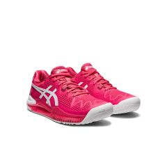 Asics Gel resolution 8 Donna Pink Cameo White
