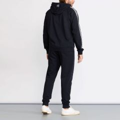 Everlast Basic Suit with Hood and Side Bands for Men in Navy Blue