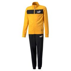 Puma Poly Suit Cl Bambini Gialla-Nera