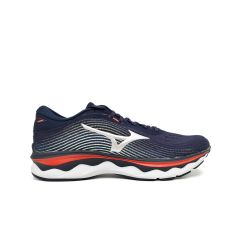 Mizuno Wave Sky 5 Peacot/Silver/Ignition Red