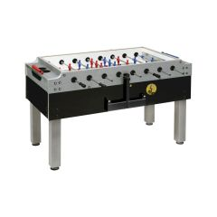 Garlando Olympic Silver Table Football with retractable temples