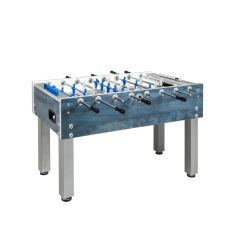 Garlando Football Table G-500 Weatherproof blue with retracting temples