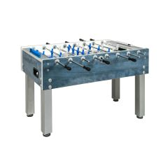 Garlando Football Table G-500 Weatherproof blue with outgoing temples