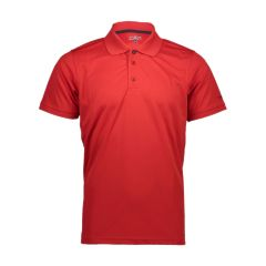 CMP Technical Red Polo Shirt for Men