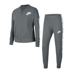 Nike Tracksuit Tricot Cool Gray White for Kids