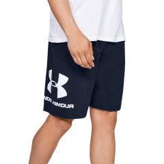 Under Armour Shorts Sportstyle in Cotone Blu Navy