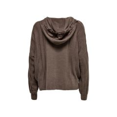 Only Loose Fitted Knitted Pullover Marrone