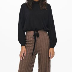 Only New Tessa Wide Pant Marrone-Chestnut