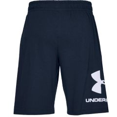 Under Armor Shorts Sportstyle in Navy Blue Cotton
