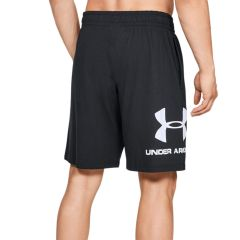 Under Armor Shorts Sportstyle in Black Cotton