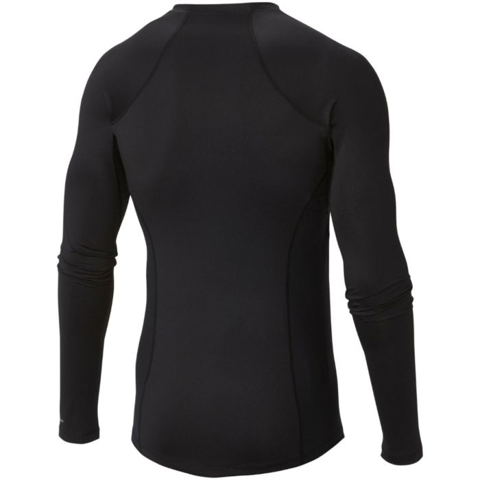Columbia Maglia Midweight Long Stretch Nero
