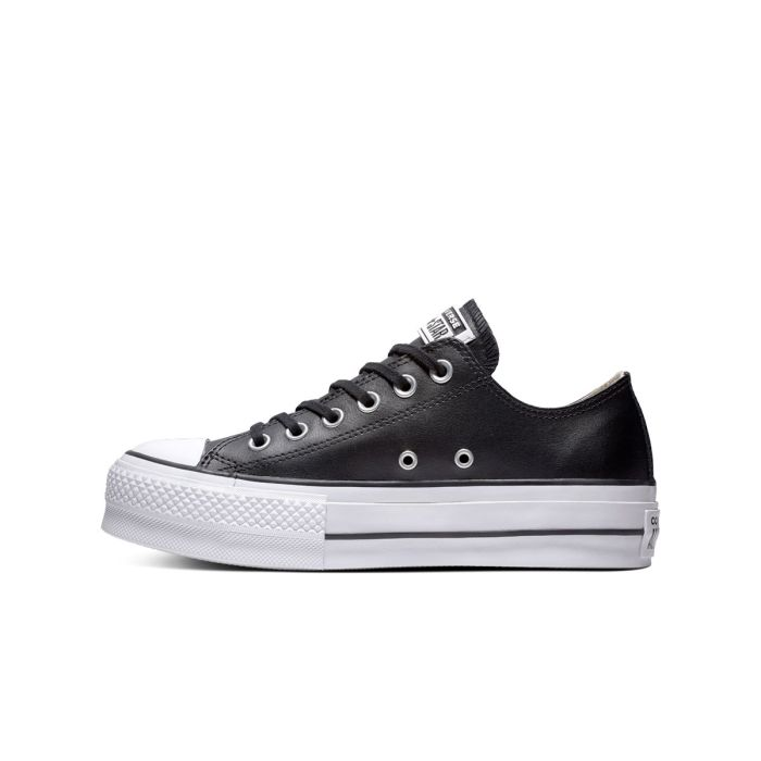 Converse Chuck Taylor All Star Lift Leather Nera